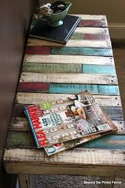 Diy Wood Pallet Coffee Table by Best 25 Pallet Entry Table Ideas On Pinterest Diy Sofa Table