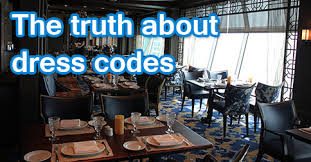 Freedom Of The Seas Main Dining Room Menu - first time cruisers the truth about dress codes royal caribbean