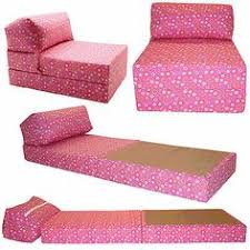 Folding Chair Bed Folding Chair Fold Out Single Futon Guest Z Bed Childrens