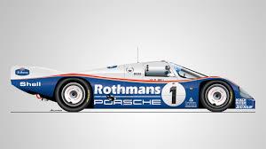 rothmans porsche 962 porsche le mans 24 hours winner 1970 2017 porsche cars history