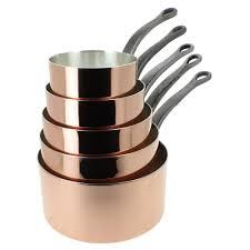 batterie de cuisine en cuivre a vendre batterie de casseroles en cuivre casserole m150b en cuivre inox 12