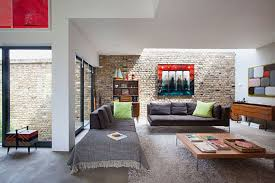 Interior Design Modern Living Room With Low Cost Furniture And - Creative living room design