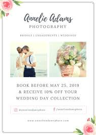 wedding flyer pink roses wedding photography flyer templates by canva
