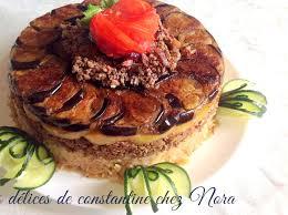 de cuisine ramadan maklouba maqluba riz renversé aux aubergines viande hachée pommes de
