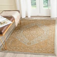 Gold Area Rugs Safavieh Heriz Light Gray Gold Area Rug Free Shipping On Orders