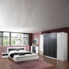 Schlafzimmer Komplett Modern Schlafzimmer Komplett Hochglanz Schwarz Weiss Bett Kleiderschrank