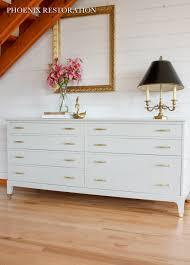 Glossy White Dresser For Sale Sold Phoenix Restoration