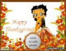 betty boop thanksgiving imikimi