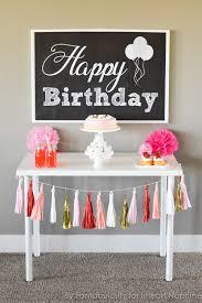 how to decorate birthday table free happy birthday backdrop i heart nap time