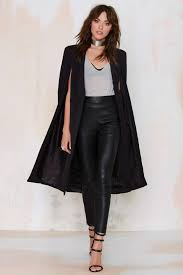 lavish alice on the fly cape jacket shop clothes at nasty gal