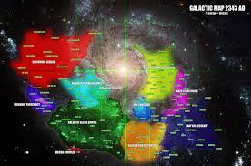 Galaxy Map The Future Galaxy Map