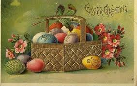vintage easter baskets happy easter happy happy rebirth and renewal sadh