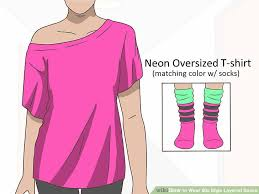 1980s colors how to wear 80s style layered socks 12 steps with pictures