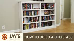 how to build a bookcase 258 youtube