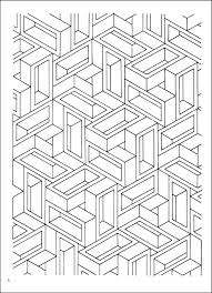 optical illusion coloring pages coloring
