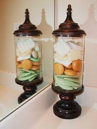 Glass Bathroom Storage Jars Ways To Update Your Bathroom Storage Jars Jar And Bathroom Storage