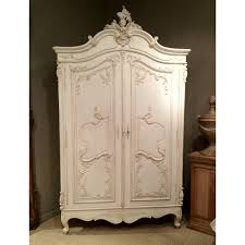 bedroom charming wooden armoire wardrobe in white for bedroom