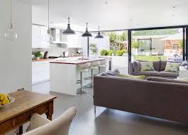 cuisine ouverte sur sejour cuisine ouverte sur sejour salon en 55 id es open space superbes