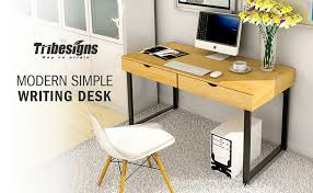 Writing Desks For Home Office Tribesigns Computer Desk Modern Stylish 47 Home Office Study