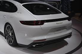 porsche panamera 2016 black porsche panamera and panamera executive debuts at la auto show