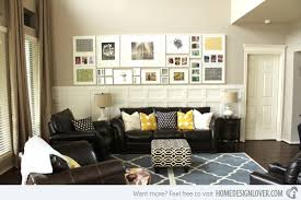 livingroom wall ideas living room wall decorating 1000 ideas about wall on