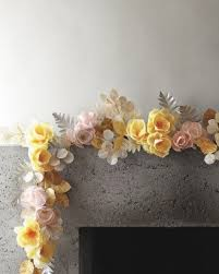 25 unique paper flower garlands ideas on hanging