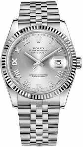 rolex bracelet white gold images Rolex m116234 0081 datejust 36 steel white gold unisex watch jpg