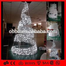 white outdoor lighted christmas trees led spiral tree outdoor metal frame giant christmas tree white red