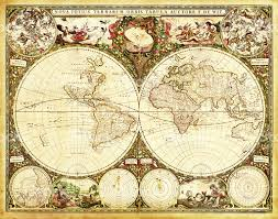 World Map High Resolution by Antique Decorative World Map Stock Vector Art 184658900 Istock