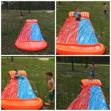 top notch material h20go backyard water slide provides hours of