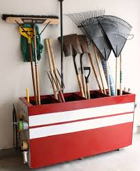Garden Tool Storage Cabinets Turn An File Cabinet Into Garden Tool Storage For The Home