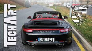 2013 porsche 911 4s cabriolet techart porsche 911 991 4s cabrio acceleration revving