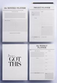 homemade planner templates top 25 best work planner ideas on pinterest agenda planner ultimate productivity to do list work printable planner pack 21 a4 a5 organizer pages day planner project planner instant download