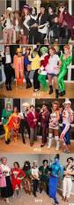 group halloween costume ideas 7 women dress up as one actor every