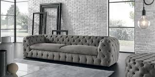 chesterfield sofa chesterfield sofa velvet 3 seater brown autografo maxdivani