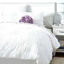 textured white duvet cover white ruched duvet cover queen white