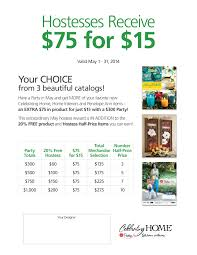 hostess special monthly promotions pinterest