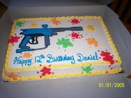 gun birthday cake ideas for your gun loving kids