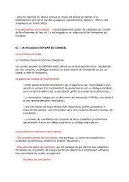 bureau de jugement conseil de prud hommes droit des affaires marocain