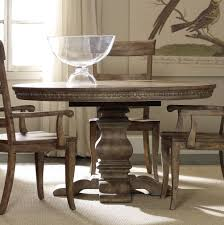 hooker furniture dining room sorella pedestal dining table w 1 20
