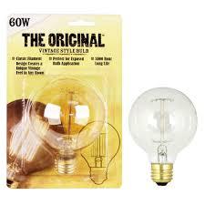 feit electric 60 watt soft white g25 incandescent original vintage