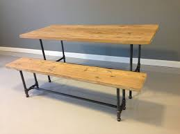 hand crafted industrial pipe table by dendro co custommade com