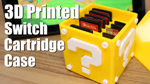 3d printed question block switch cartridge case youtube