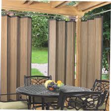 Gazebo Curtain Ideas by Outdoor Bamboo Curtain Panels Rooms