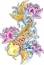 japanese tattoos with image japanese koi fish designs