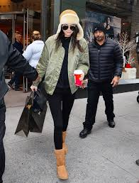 ugg boots veterans day sale kendall jenner wore the ugg boots you ll wear all winter winter
