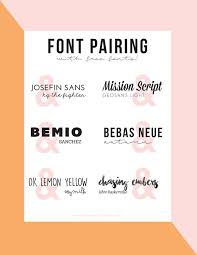 Best Font To Use For Resume by Best 25 Font Pairings Ideas On Pinterest Font Combinations