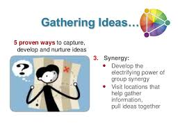 gather your ideas with this 3 step process