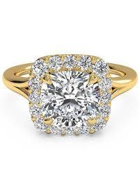 cushion cut engagement rings
