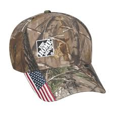American Flag Camo Hat The Home Depot Home Depot Outdoor Cap Homc101299 00 The Home Depot
